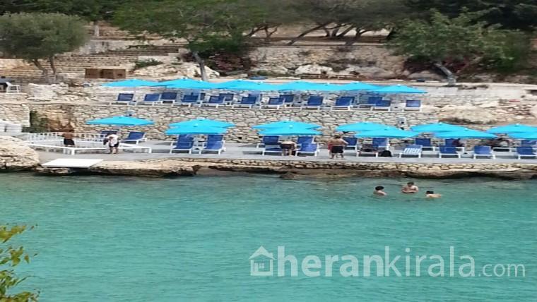 MERSİN/SUSANOĞLU/ATAKENTTE Flamingo 7 Tatil  Sitesinde Denize Sıfır ( AYLIK ) OLARAK  KİRALIK Daire