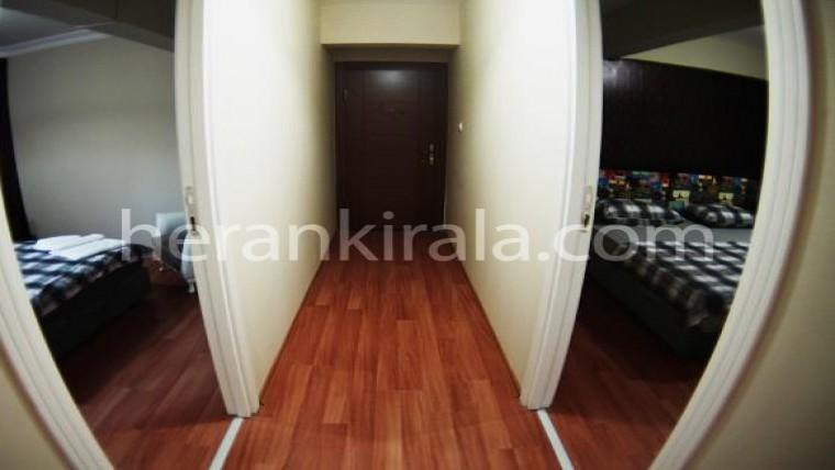 Bakırköy merkez'de lüx günlük haftalık kiralık daire