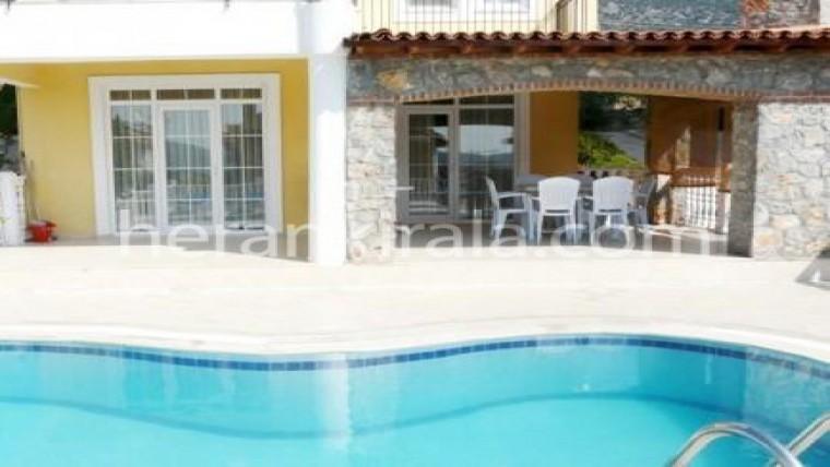 Fethiye hisarönü de özel havuzlu lux villa sun