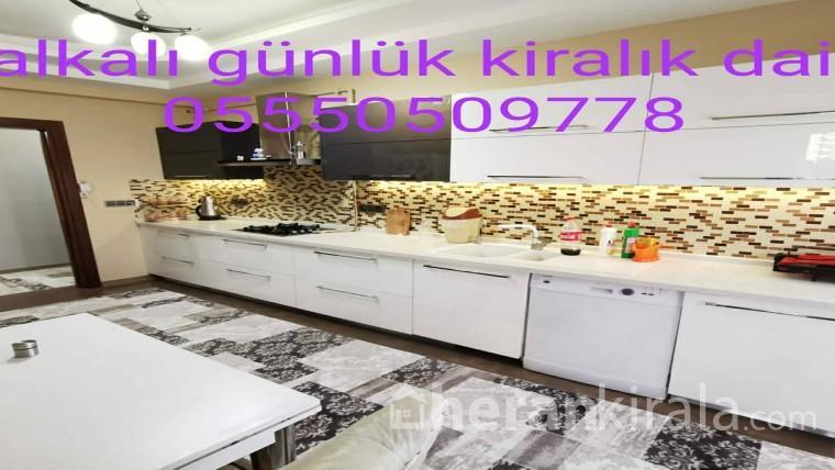 Halkali günlük kiralik daire 05550509778