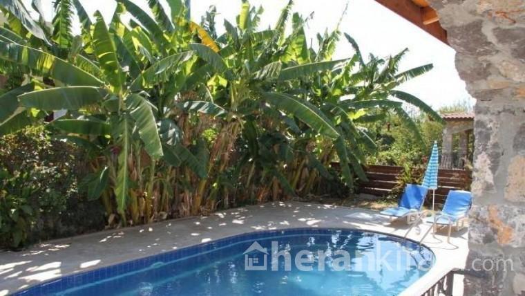Muğla Fethiye'de özel havuzlu kiralık lüks villa