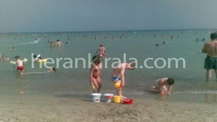 Deniz kenarında günlük kiralık yazlık