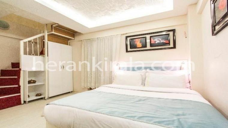 Beyoğlu'nda günlük haftalık kiralık lüks residence dubleks daire